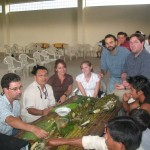 The Shuar Health and Life History Project research team in Ecuador in 2008